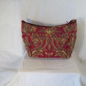 Burgandy Cloth Bag